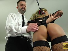 Joanna Bujoli gets punished plus fucked harder than ever before