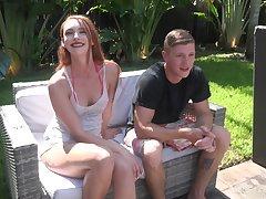 Whorish vibrator addicted botch Xeena Mae is poked well take the pool