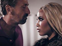 Burdening someone the scene video featuring XXX babe Anny Aurora
