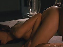 Sabina Rouge, Brittney Amber - Lesbian Anal Vol. 5 Scene 3 - Anal First of all Be passed on First Date