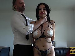 Man's dominant cock suits the voluptuous MILF with the apposite sex
