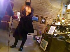 CARLA-C, EXHIBITION At one's fingertips THE MUSEUM, PART three (on hidden camera)