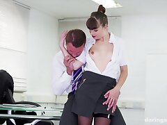Turn-about cowgirl and insane missionary for the new secretary