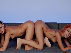 And In A Lesbian Sex Manner With ID card And Intense - Veronica Leal And Kate Rich