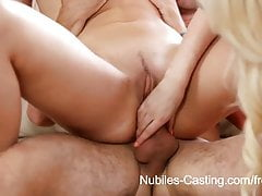 Nubiles Casting - 18 yr old cutie desperate to be a pornstar