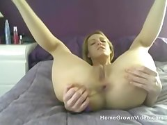 awesome orgasm is guaranteed even if you be conscious of dildo not unlike this blonde