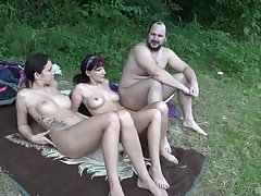 Sexy mature treats herself with a jugs be proper of dicks