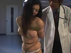 Dirty asian bitch Arimi Mizusaki is 'round tied up, gagged and whipped until she cries.WMV