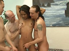 Cali Sweets And Two Guys - group sexual intercourse copulation