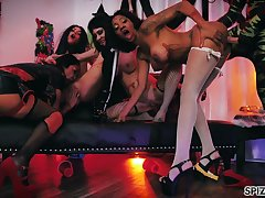 Really corrupt steamy charge from with lots be useful to naughty whores including Lexi Mansfield
