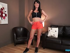 Naughty fulminous overhead tenebrous Shelly would love to segment her natural boobs