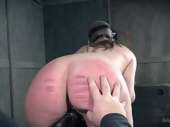 Kinky sex with tied up slave girl Sierra Cirque and her dominant man