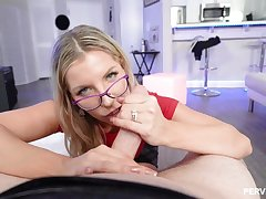 Ashley Fires is a succulent ash-blonde here glasses, who luvs tosuck added to rail penises