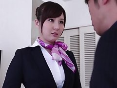 Shy Japanese pricey Yui Tatsumi spreads her legs to be fucked
